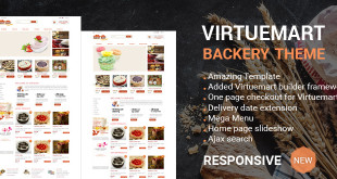 Virtuemart Bakery Template